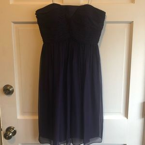 Silk plum formal / bridesmaid dress (perfect cond)